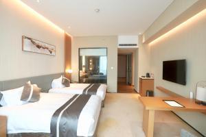 Burrit Hotel, Отели  Yuyao - big - 2