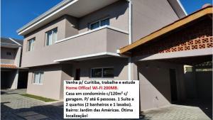 Casa Curitiba 120m² (1 Suíte e 2 Quartos) com garagem em condomínio