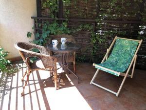 Apartment with a Garden