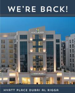 Hyatt Place Dubai Al Rigga Residences -