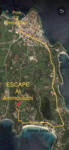 Escape at Ammouliani Ammouliani Greece