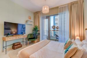 Durrani Homes - Luxurious Studio near Dubai Mall with pool view - Dubai
