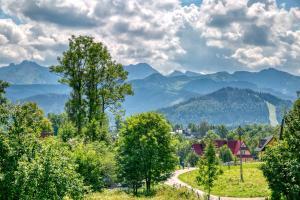 Góralska Ostoja z widokiem na Tatry