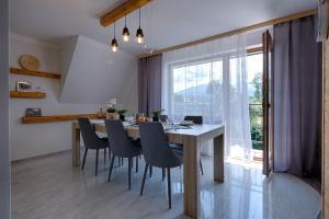 Apartament Góralska Ostoja prywatne wejście widok na Tatry