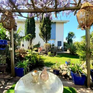 Chambre et jardin