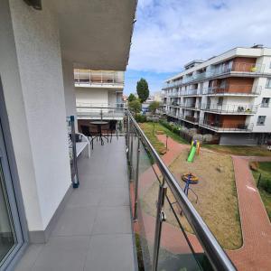 Apartament 41m2 Duży balkon narożny Osiedle Bursztynowe Blisko portu i morza