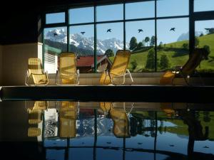 Ferienwohnung Aberg an der Skipiste mit Schwimmbad Sauna und Hochkönig Card