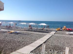 Гостиницы Лазаревского рядом с пляжем