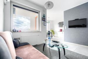 Top Oder Apartments private parking