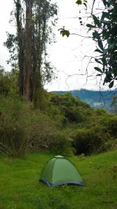 Casa campesina la Maria, Luxury tents  San Rafael - big - 8