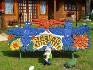 Pousada Refugio Comodo, Гостевые дома  Кампус-ду-Жордан - big - 25