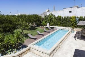 Villa with 5 bedrooms in Giuggianello with private pool furnished terrace and WiFi 10 km from the beach