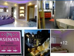 Apartament 46m2 parter z wanną i sauną ASENATA
