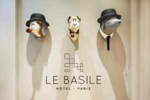 Location gîte, chambres d'hotes Le Basile Hôtel Paris dans le département Paris 75