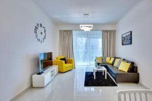Ultra Modern 1BD in Damac Heights Dubai Marina - Dubai