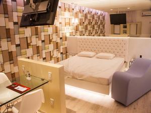 Motel Le Monde (Adult Only), Hodinové hotely  Belo Horizonte - big - 16
