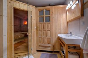 Domek regionalny Akwarela centrum sauna