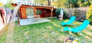 Chalet with 2 bedrooms in Saint Genest de Beauzon with enclosed garden and WiFi - Hotel - Saint-Genest-de-Bauzon