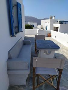 Cycladic houses in rural surrounding Amorgos Greece