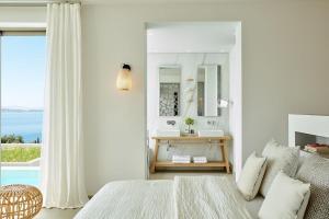 Excellent Halkidiki Villa Junior Pool Villa 2 1 Bedroom Stunning Sea Views Ouranoupoli Ammouliani Greece