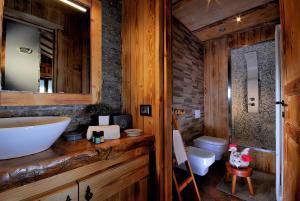 Aparthotel Foyer d'antan SUITE con caminetto hammam o vasca idromassaggio - Hotel - Brusson
