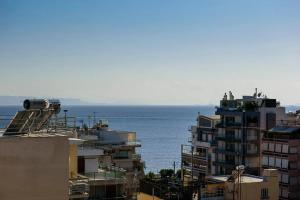 Sunny Breezy Duplex in Athens Riviera With Sea View