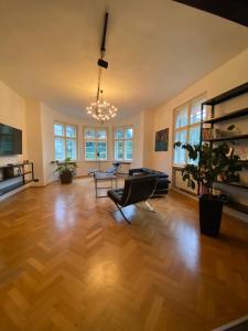 Luxusní apartmán se zahradou