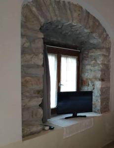 manesi stone built studio Achaia Greece