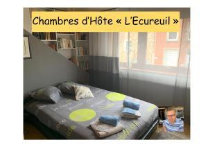 """Chambre d'hôtes """"L Écureuil"""" à 10 min de Mons et 400m du PASS - Frameries"""