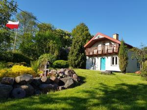 Całoroczny domek nad samym jeziorem Mazury