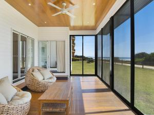 Abode on Bilinga - Absolute Beachfront Holiday Home walk over the sand dunes to the ocean