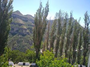 Просторная квартира в центре с видом на горы