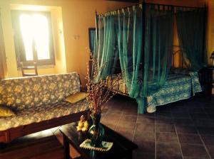 Camera Matrimoniale/Doppia con Letti Singoli con Vista Giardino