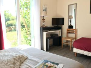 Location gîte, chambres d'hotes Hotel Aux Tamaris dans le département Morbihan 56