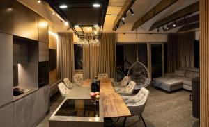 Ekskluzywny Apartament z prywatną sauną Jodłowa 12 widok na Skrzyczne
