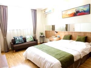 GreenTree Inn Zhenjiang Yangzhong City Central Shopping Market North Gangdong Road Express Hotel, Отели  Yangzhong - big - 26