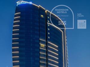 Radisson Blu Hotel, Dubai Cana..