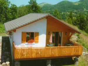 Location gîte, chambres d'hotes Chalet Les Chalets Des Ayes 7 dans le département Vosges 88