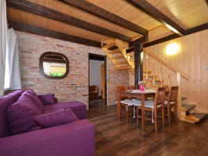 A quiet cottage in a seaside village Living room two bedrooms a large garden
