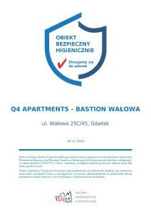 Q4 APARTMENTS Bastion Wałowa