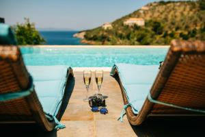 Villa with 3 bedrooms in Megali Ammos Alonnisos with wonderful sea view private pool enclo Alonissos Greece