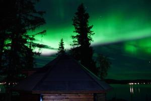 Northernlight cabin with reindeers - Hotel - Kiruna