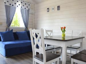 Detached holiday cottages located 200 m from the sea in a seaside village