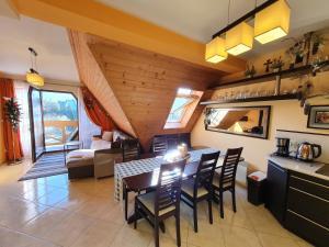 Apartament Pomarańczowy z basenem i sauną
