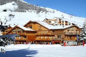 Hotel Les Mélèzes, Hotely  Les Deux Alpes - big - 37