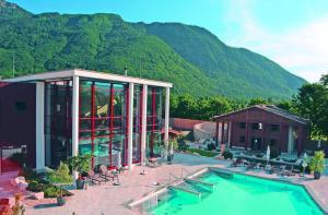 Hotel Almrausch, Отели  Бад-Райхенхалль - big - 47