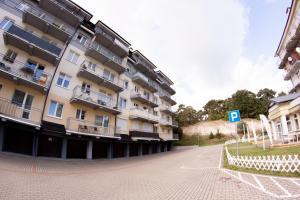 Apartament Błękit Fal przy Wydmie w Ustce