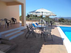 Villa with 4 bedrooms in Porto Cheli with wonderful sea view private pool enclosed garden  Argolida Greece