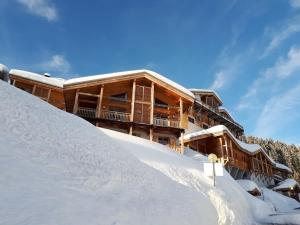 Apartment with 3 bedrooms in Flaine, with wonderful mountain view, shared pool, furnished terrace - 500 m from the slopes - Hotel - Flaine