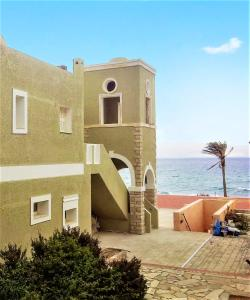 Apartment with 3 bedrooms in Dionysos Crete with wonderful sea view shared pool furnished garden 8 km from the beach
